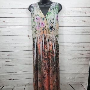 NWOT One World Maxi Dress